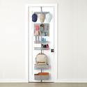 Platinum elfa utility Mesh Entry Door & Wall Rack