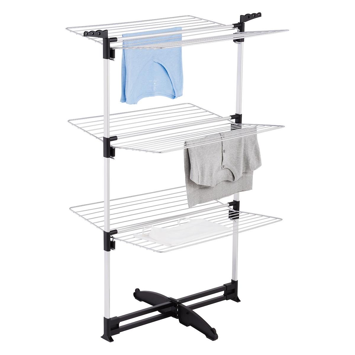 ciclone clothes drying rack the container store. Black Bedroom Furniture Sets. Home Design Ideas