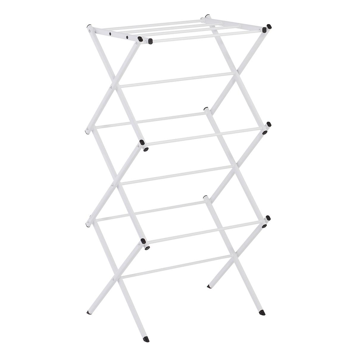 Compact Accordion Clothes Drying Rack