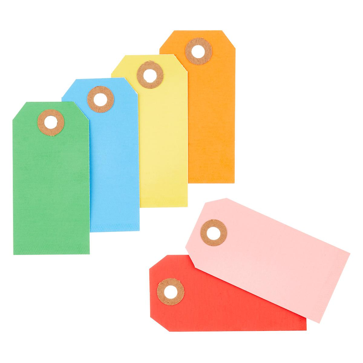 Assorted Bright Gift Tags