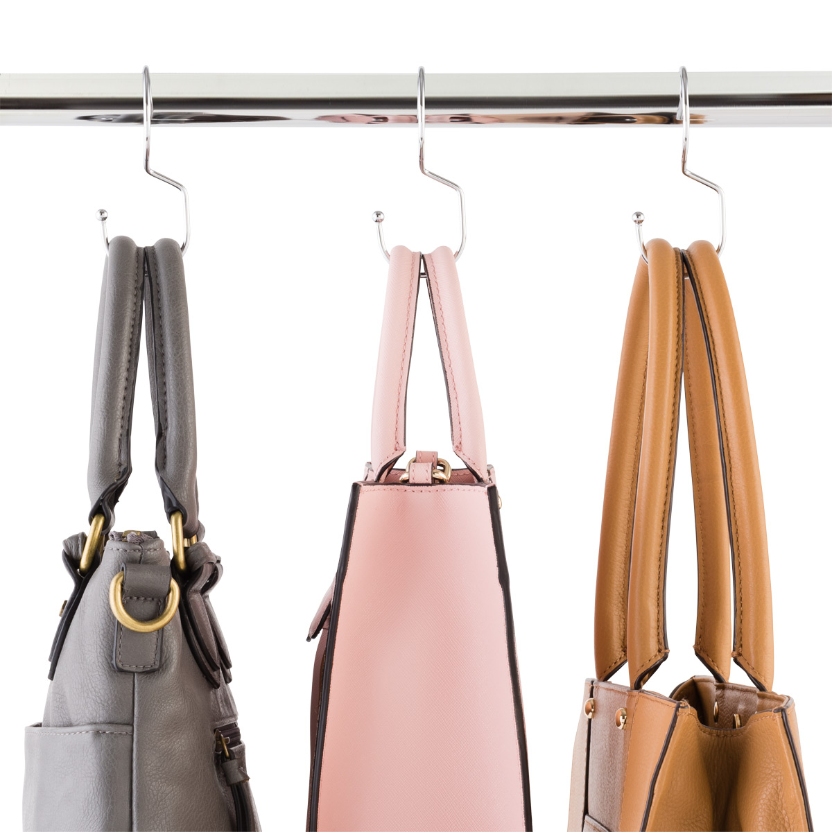Chrome Metal Purse Hangers