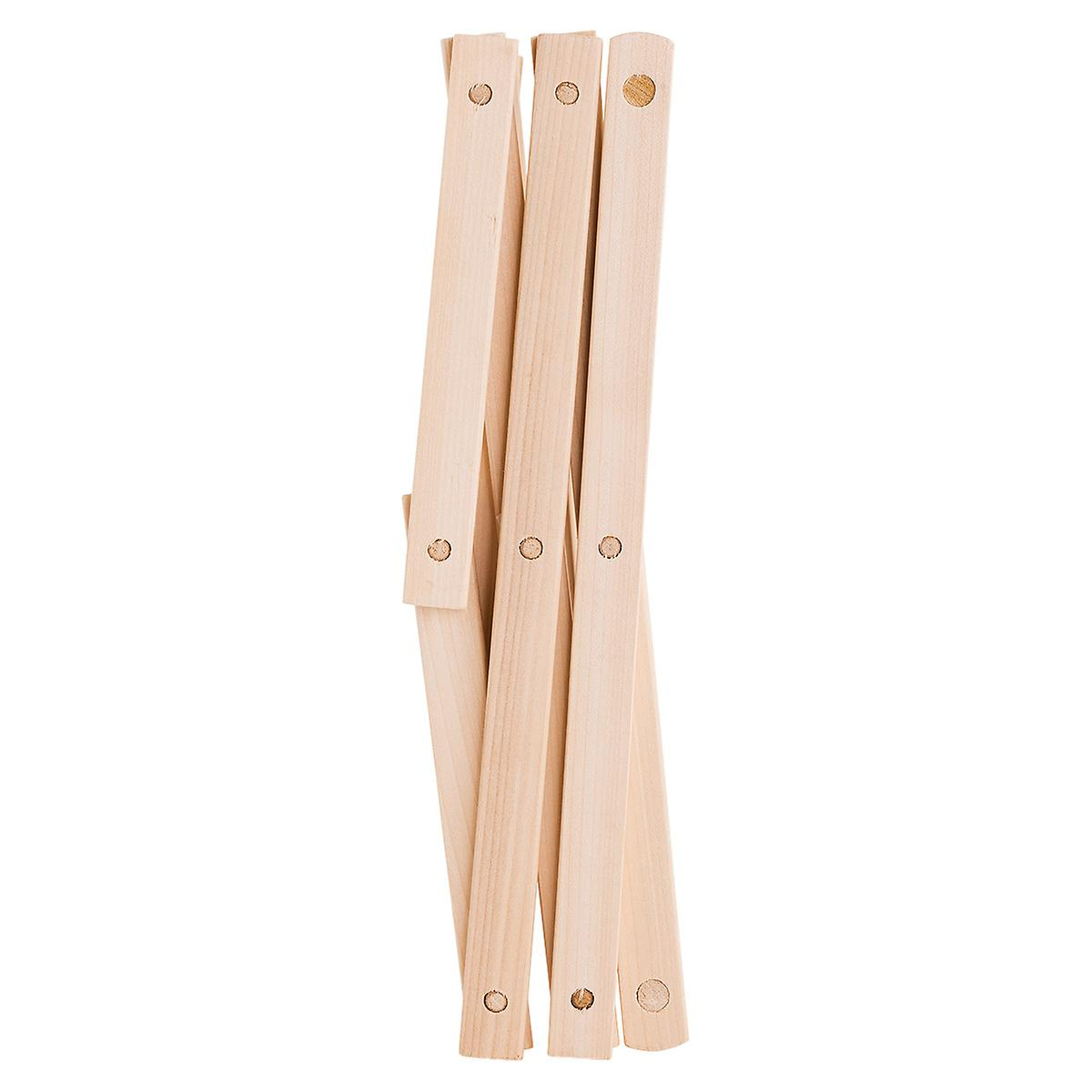 9 Dowel Wooden Wall Mounted Amp Floor Clothes Drying Rack