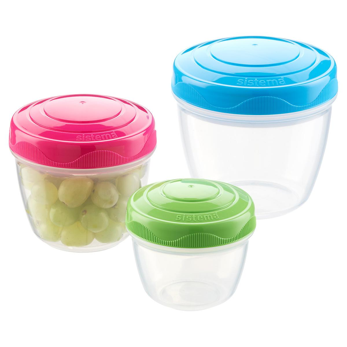 Sistema Snack & Nest Containers