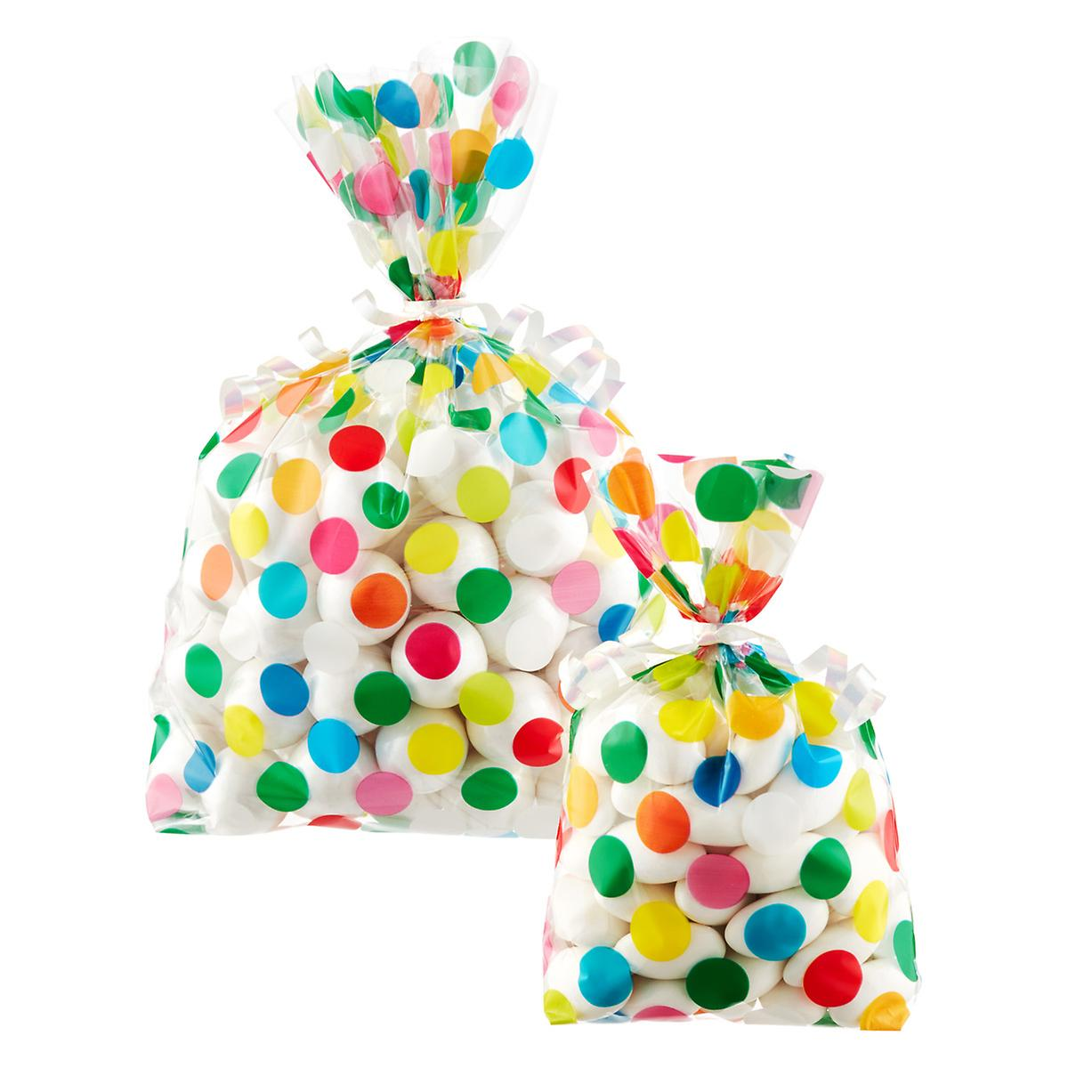 Multi Dot Gift Sacks