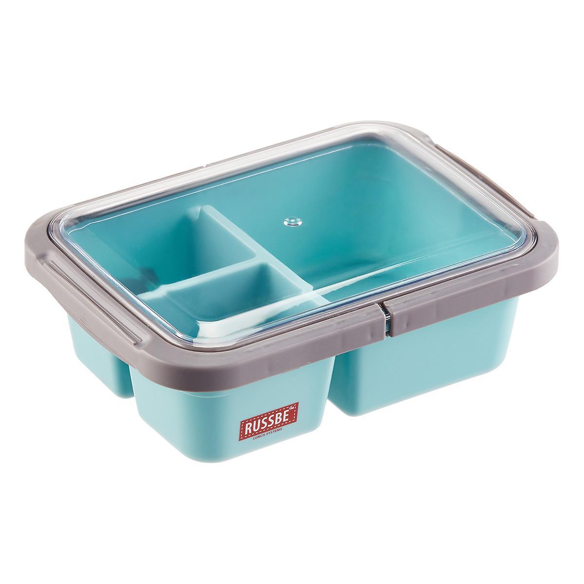 1 2 qt 3 compartment bento box the container store. Black Bedroom Furniture Sets. Home Design Ideas