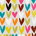 Warm Hearts Wrapping Paper