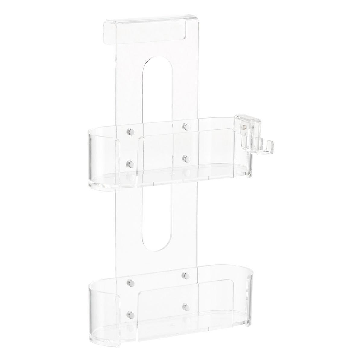 2 Tier Acrylic Shower Caddy The Container Store