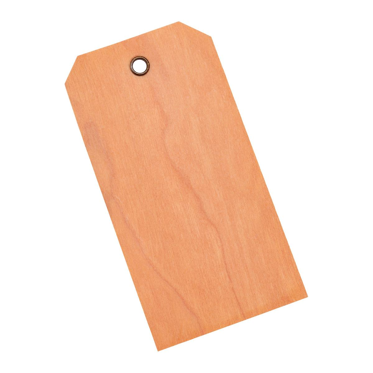 Cherry Wood Gift Tags