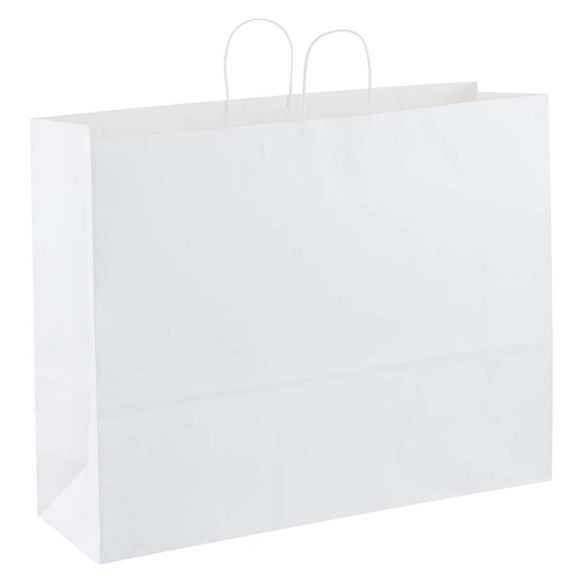Jumbo White Kraft Gift Bag