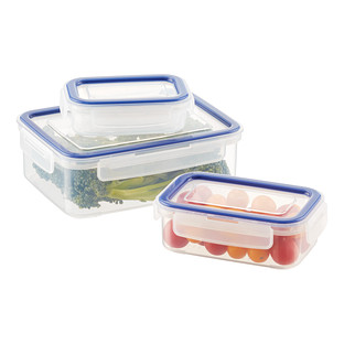 Rectangular Containers with Silicone Seals