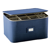 Blue Stemware Storage Case