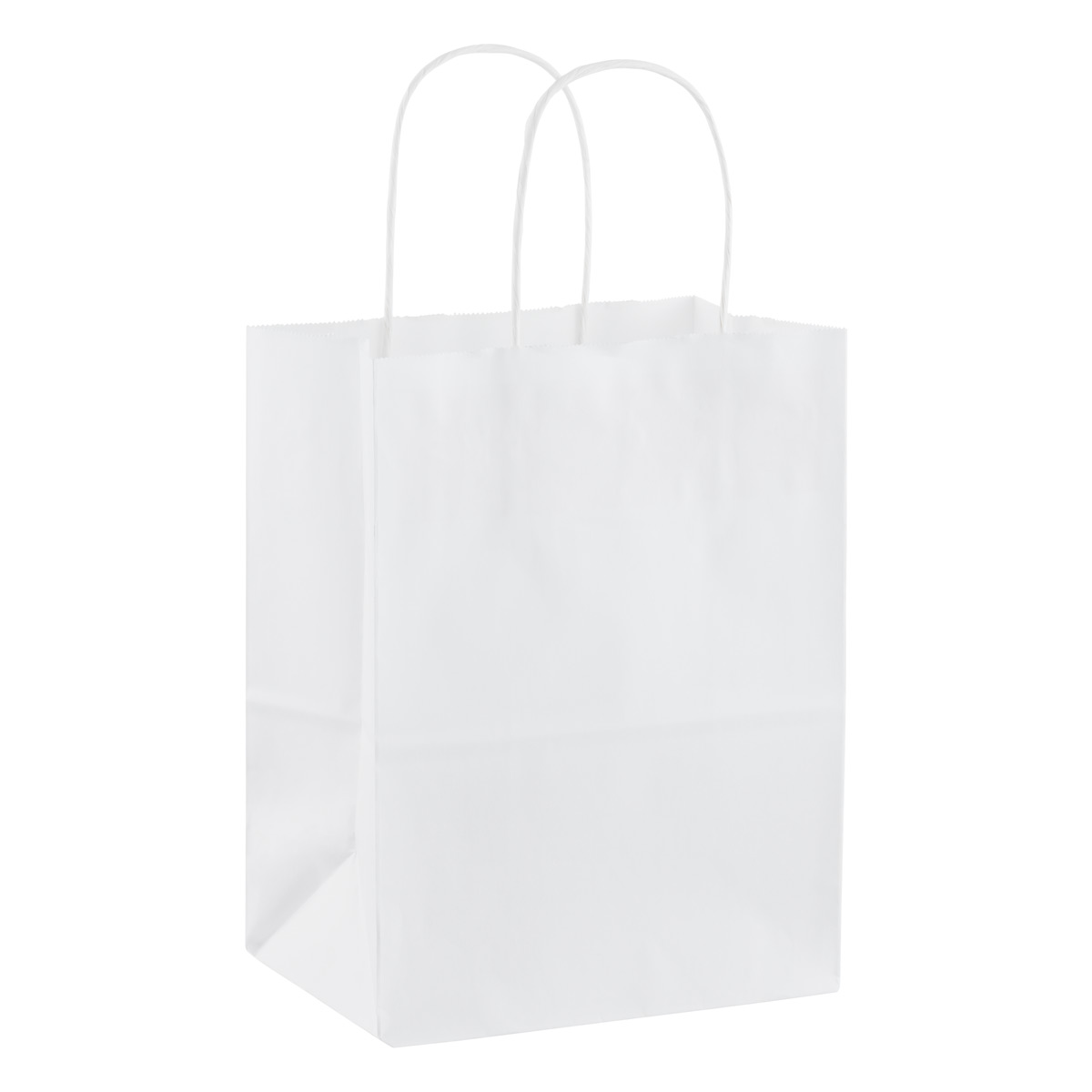 Medium White Kraft Gift Tote