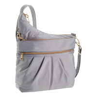 Travelon Grey Anti-Theft Crossbody Bag