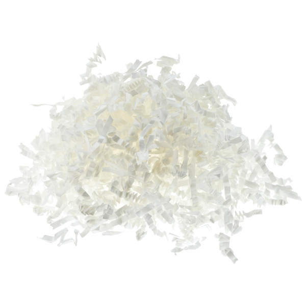 3 oz. White Crinkle-Cut Paper Shreds