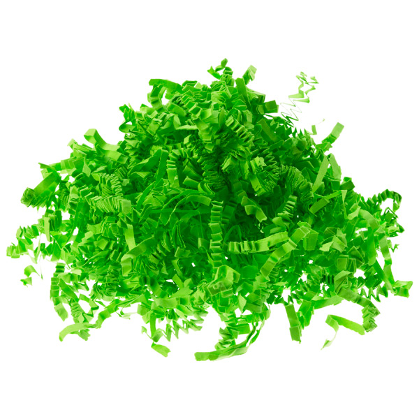 3 oz. Lime Crinkle-Cut Paper Shreds