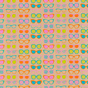 Vivid Wrap Shady Lady Brights Kraft Recycled Gift Wrap