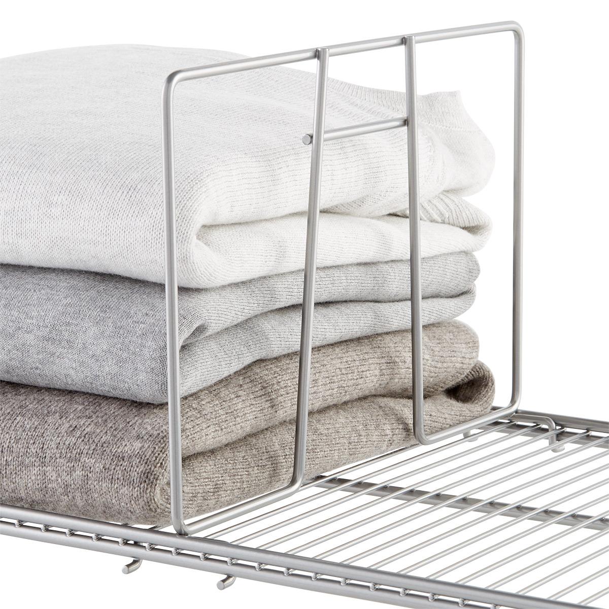 Platinum Elfa Ventilated Wire Shelf Dividers