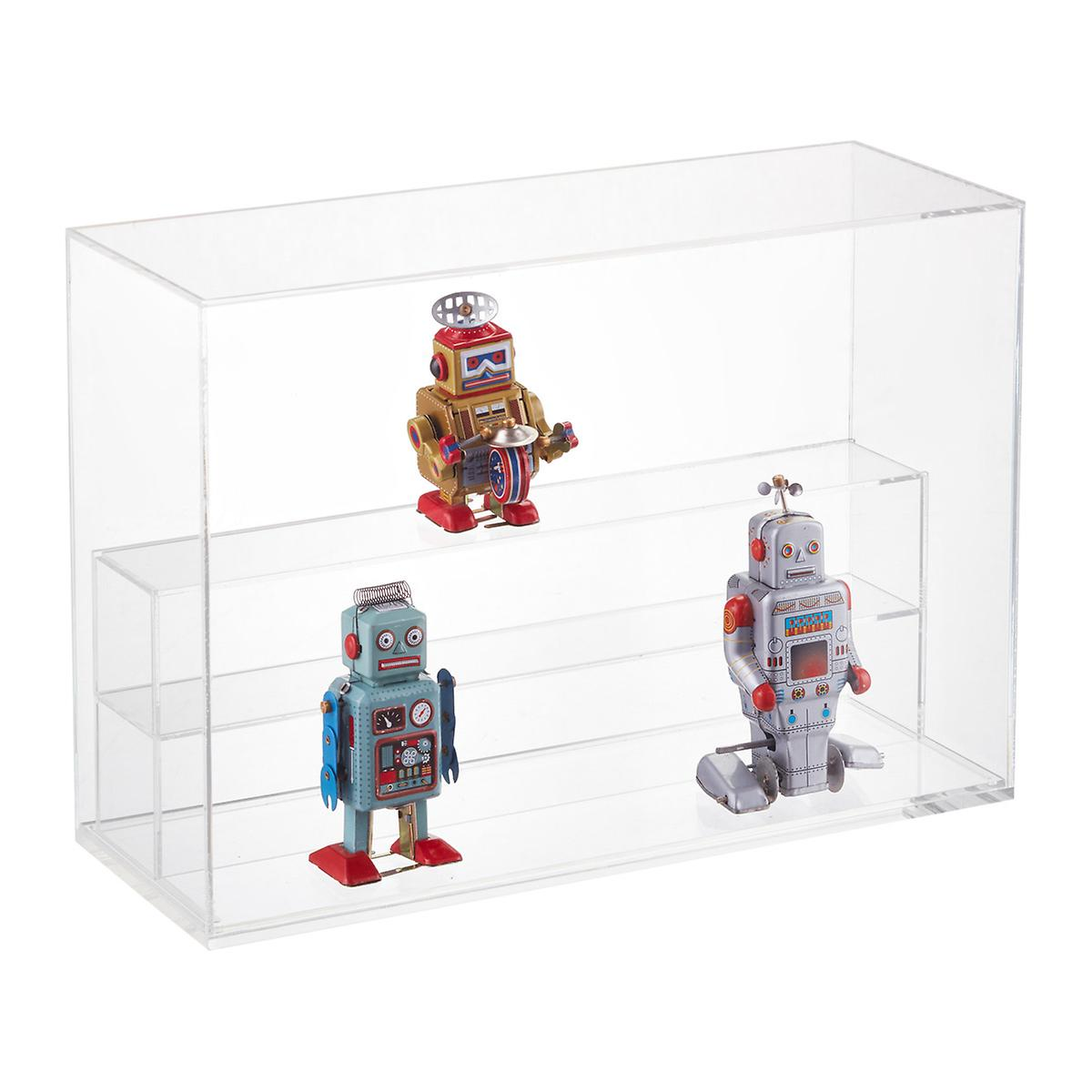 Large Modular Clear Acrylic Premium Display Case