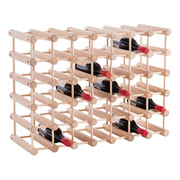 J.K. Adams Hardwood 40-Bottle Wine Rack