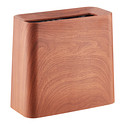 Rosewood Rectangle Tubelor High Grande Trash Can