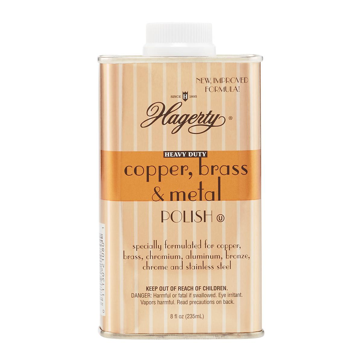 Hagerty 8 oz. Copper, Brass, & Metal Polish