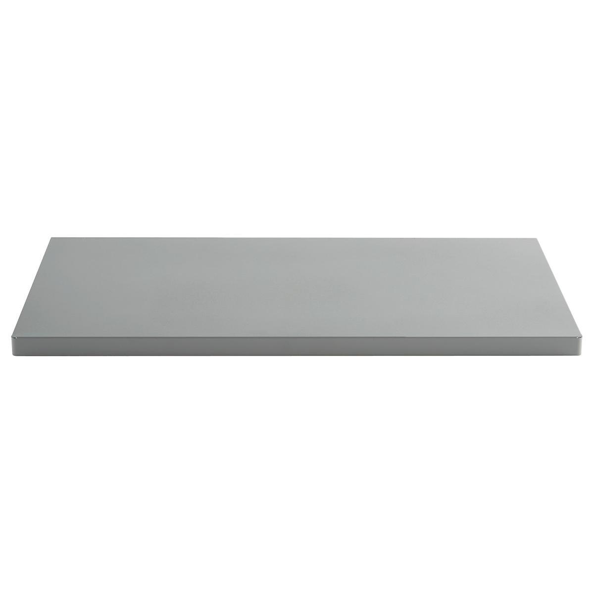 Grey Elfa Utility Work Surface