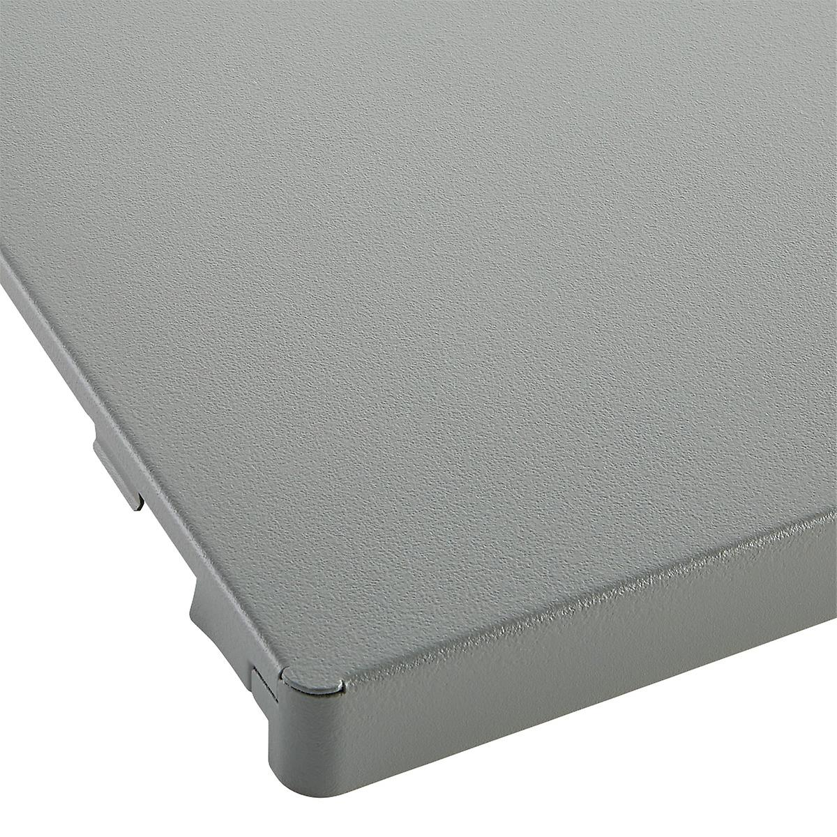 Grey Elfa Utility Work Surface The Container Store