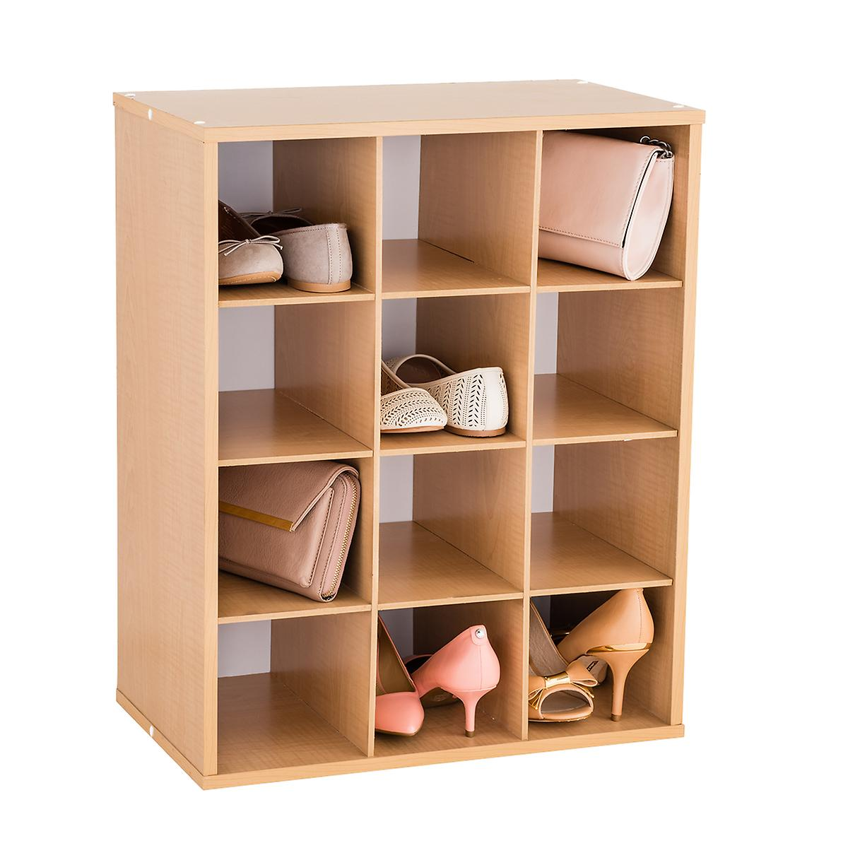 12 Pair Shoe Organizer The Container Store