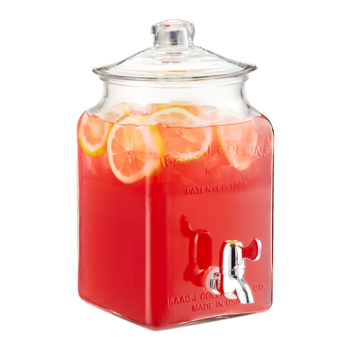 Anchor Hocking 1.5 gal. Glass Drink Dispenser