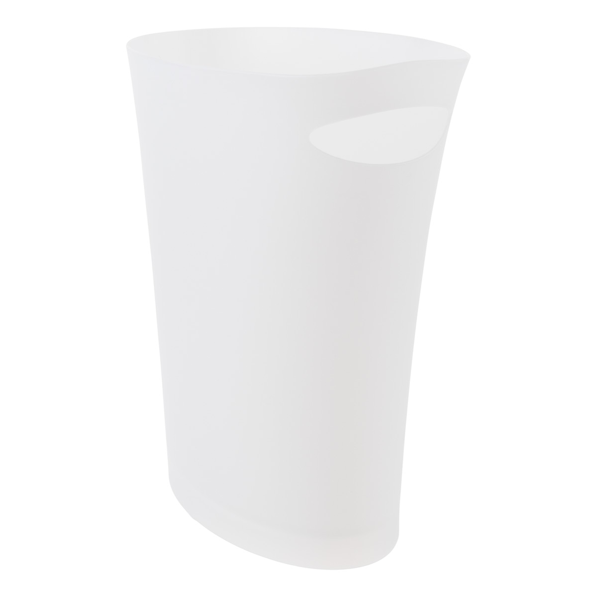 Umbra White Skinny Trash Can