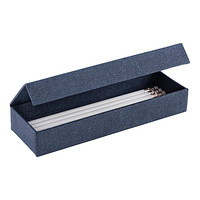 Bigso Navy Marten Magnetic Pencil Box