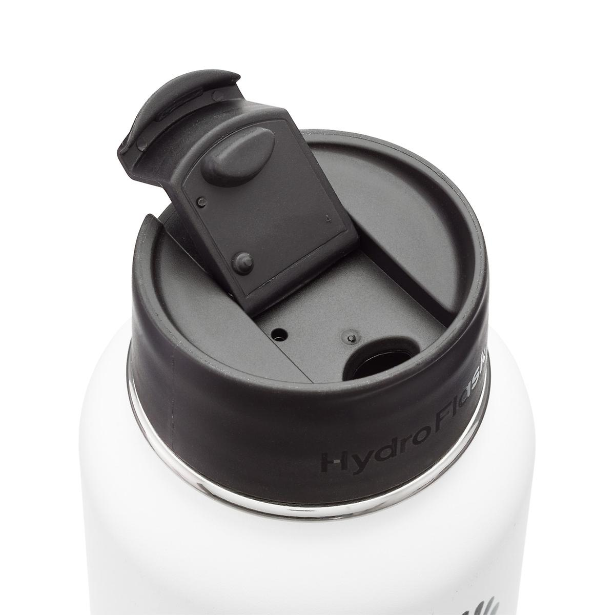 Black Wide Mouth Hydro Flask Flip Cap