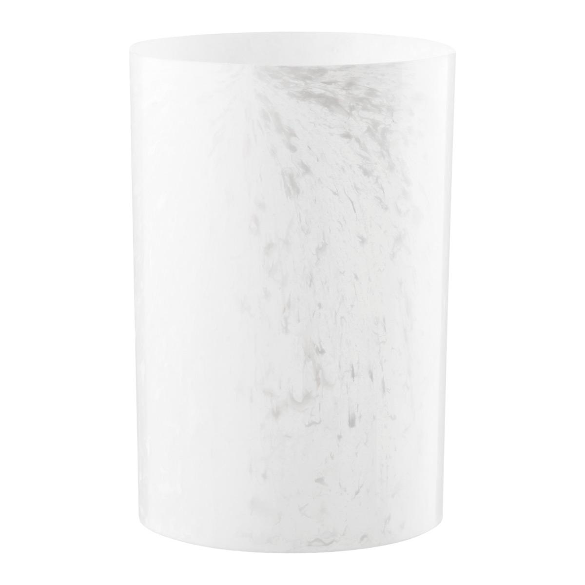 Umbra White Onyx Colonnade Wastebasket