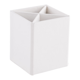 Bigso White Stockholm Divided Pencil Cup