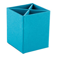 Bigso Turquoise Stockholm Divided Pencil Cup