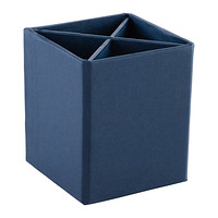 Bigso Navy Stockholm Divided Pencil Cup