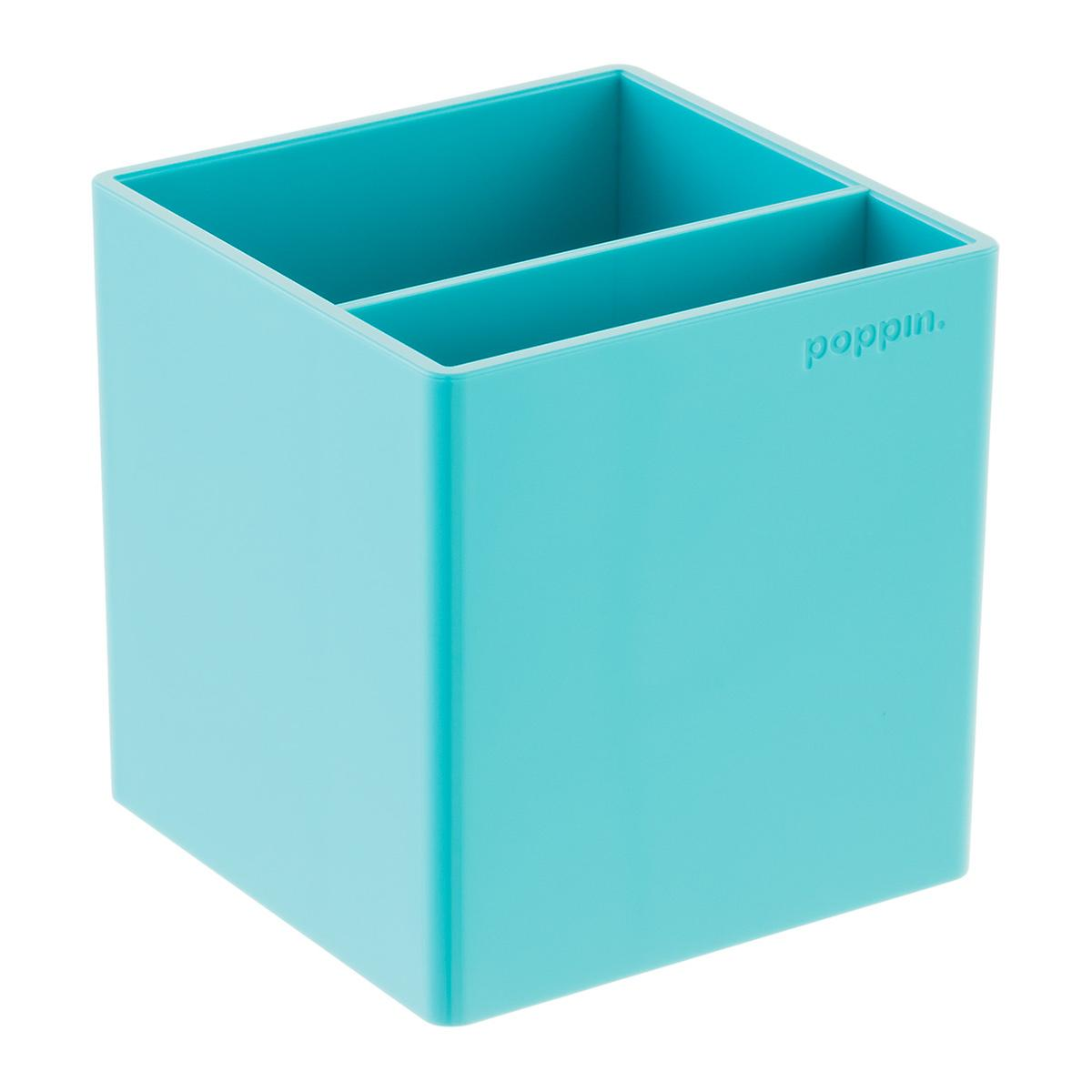 Aqua Poppin Letter Tray Storage Kit The Container Store