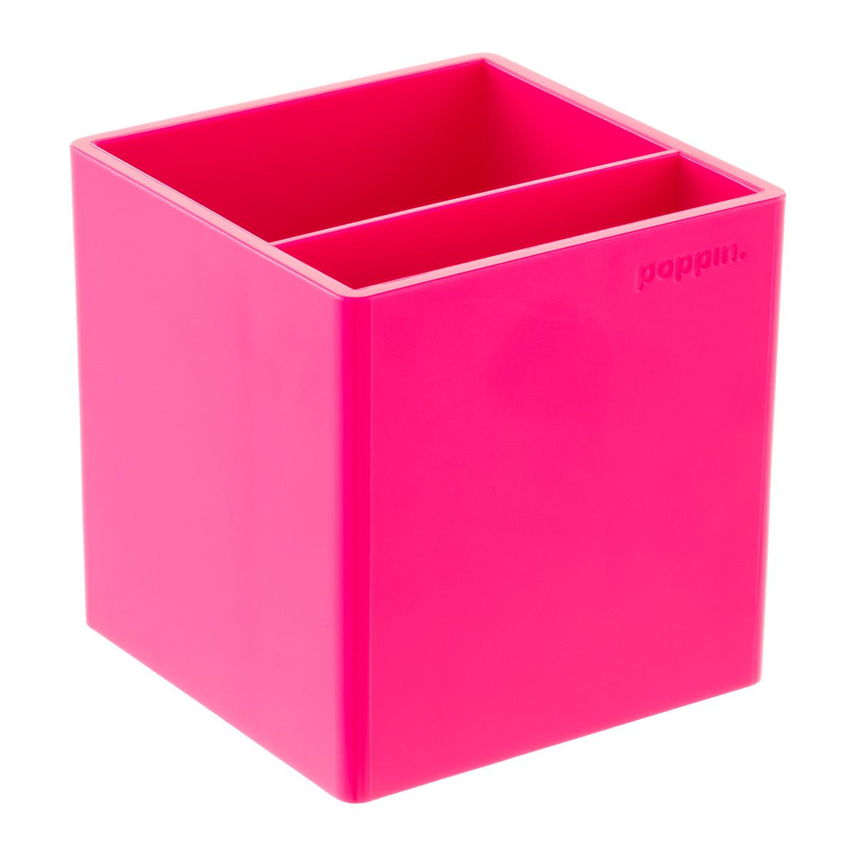 Pink Poppin Pencil Cup