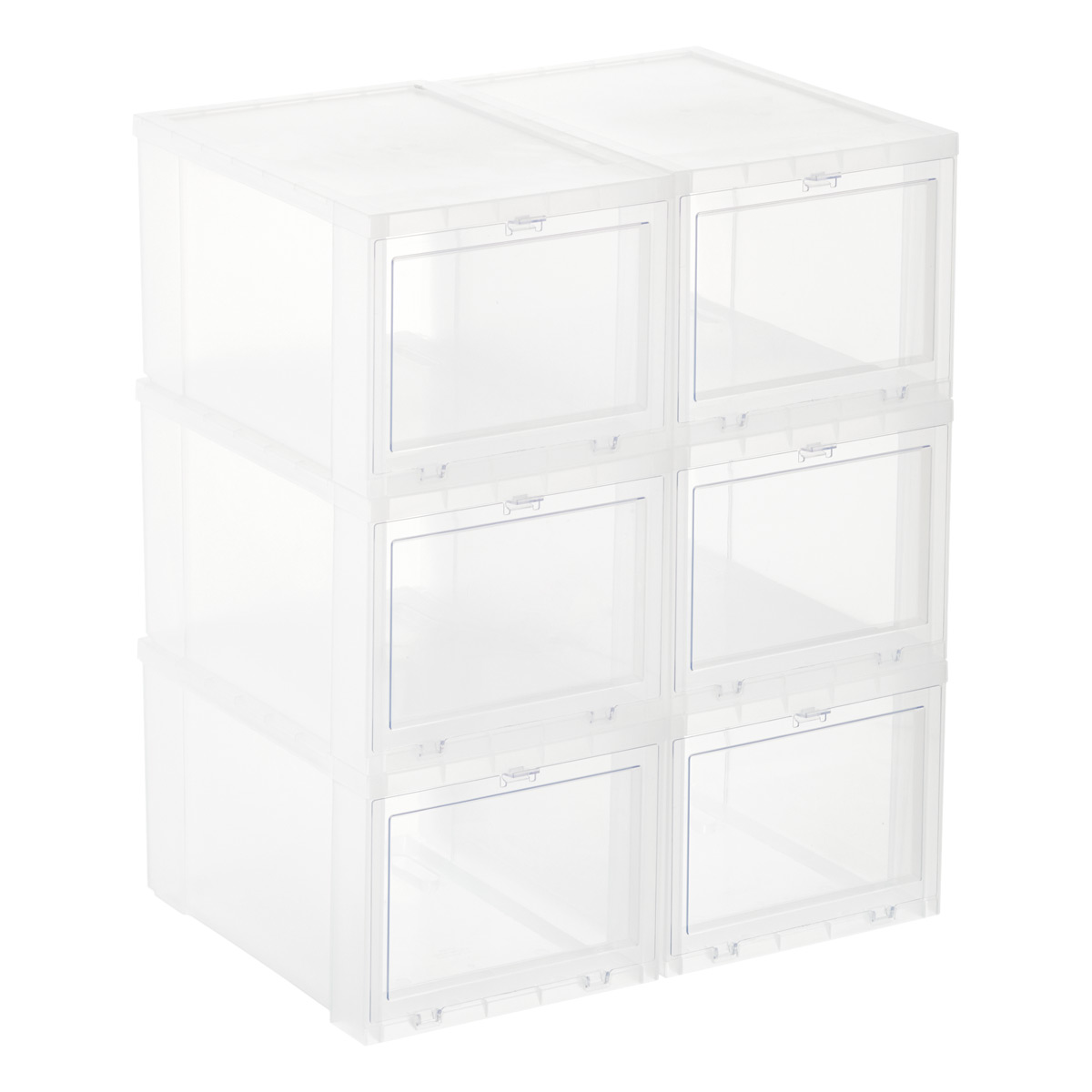 Drop-Front Shoe Boxes - Sneaker Storage Boxes | The Container Store