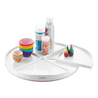 YouCopia White Crazy Susan Lazy Susan Product Image