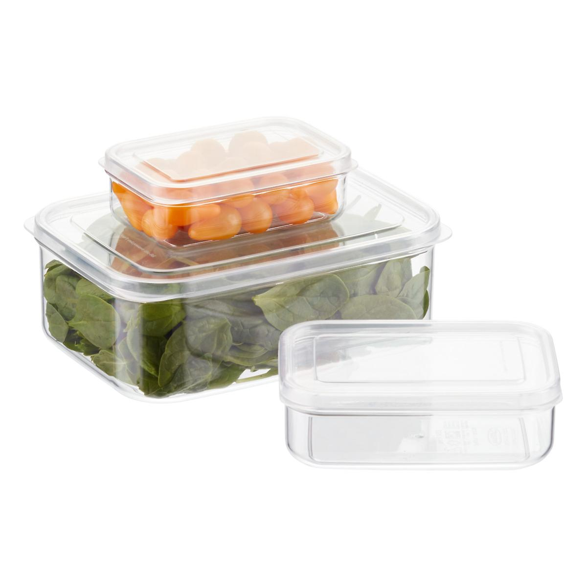 Crystal Clear Rectangular Food Storage