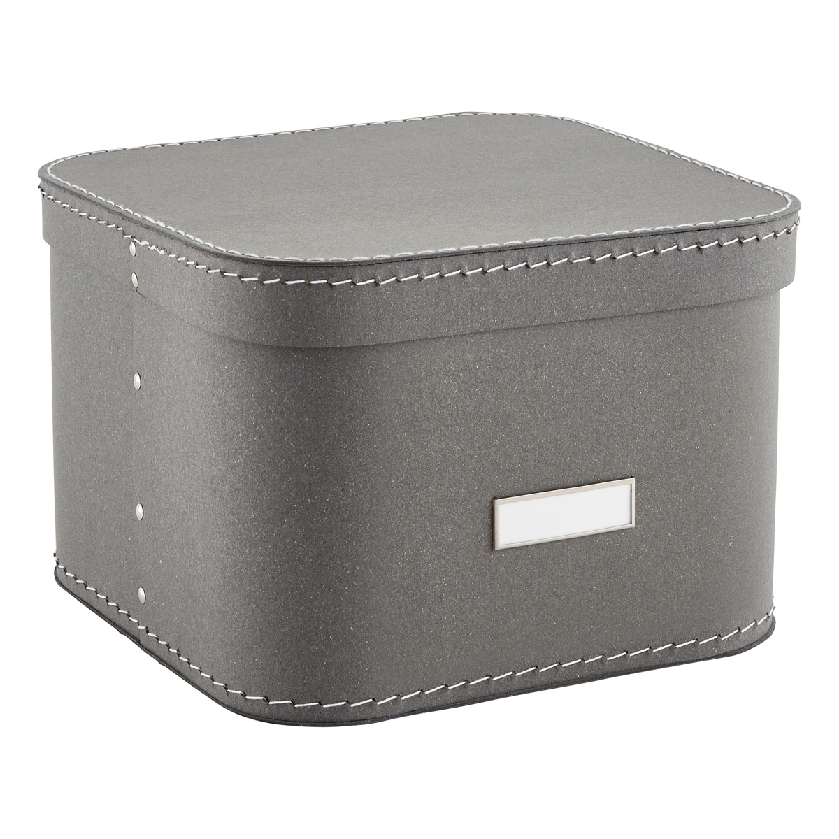 Grey Oskar Storage Box with Lid  sc 1 st  The Container Store & Storage Boxes Fabric Bins u0026 Decorative Clothes Boxes | The ...