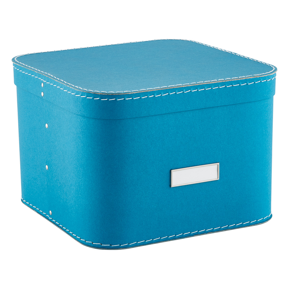 Delicieux Turquoise Oskar Storage Box With Lid