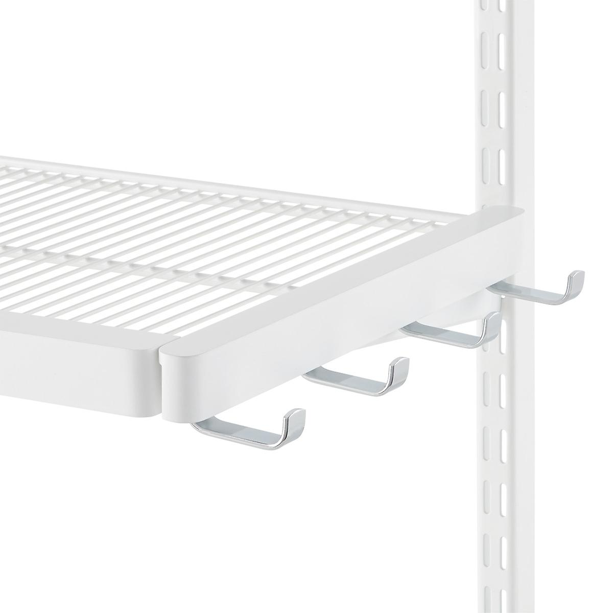 White Elfa D 233 Cor Bracket Hooks The Container Store