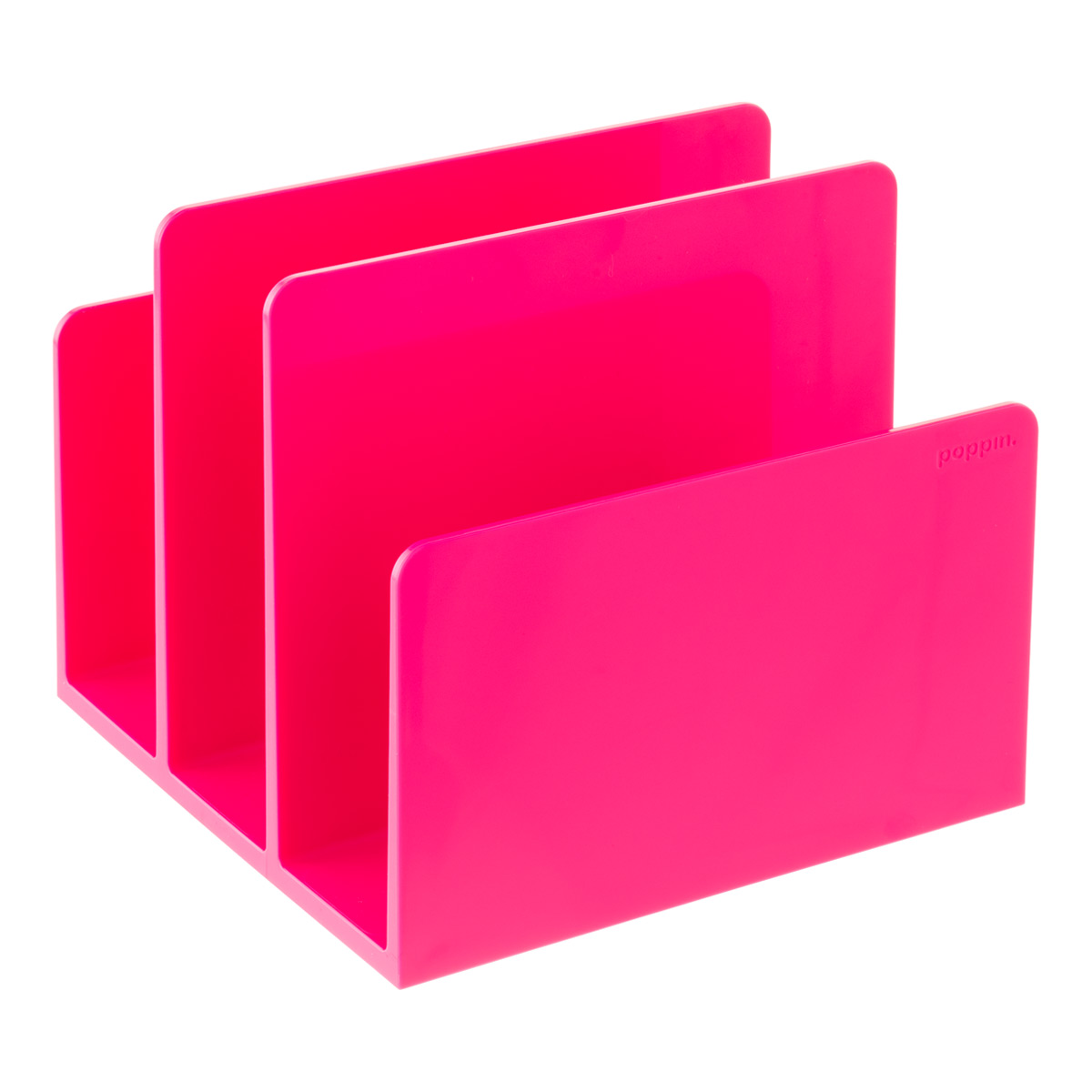 Pink Poppin Fin File Sorter
