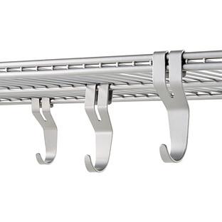 Platinum Elfa Shelf Hooks