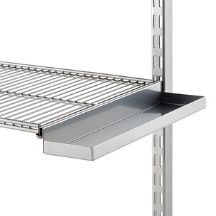 12 Quot Platinum Elfa Ventilated Wire Shelf Bracket Tray The