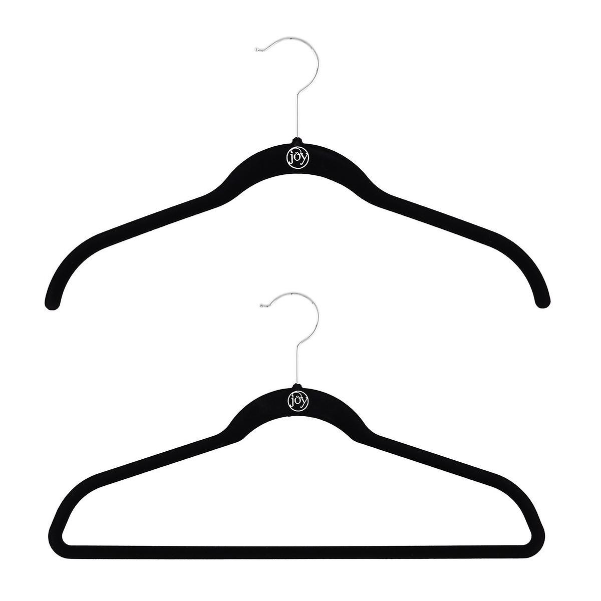 Huggable Hangers - Joy Mangano Black Huggable Hangers | The ...