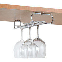 Chrome Wine Glass Holders