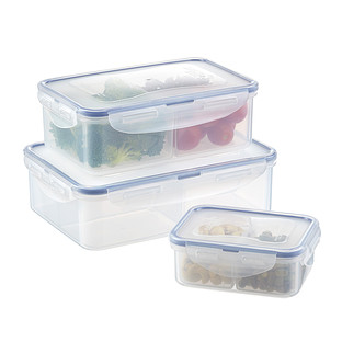 Lock Amp Lock Divided Food Storage The Container Store